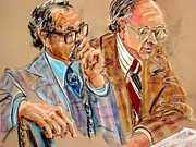 Lawyers Paintings - Defense Lawyers by Les Leffingwell