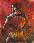 Male Mixed Media - Defiant by Chris  Lopez