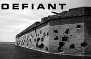 Civil War Fort Framed Prints - Defiant Framed Print by David Lee Thompson
