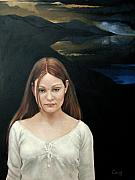 Anger Paintings - Defiant Girl  2004 by Jerrold Carton