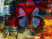 Defining Something Print by Fania Simon