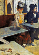 Daily Life Photos - Degas: Absinthe, 1873 by Granger