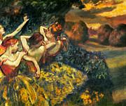 Degas: Four Dancers, C1899 Print by Granger