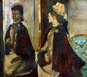1875 Photos - Degas: Mme Jeantaud, 1875 by Granger