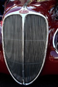 Car Framed Prints - Delahaye Grille . 40D9459 Framed Print by Wingsdomain Art and Photography