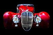 Car Posters - Delahaye Reinterpreted Poster by Wingsdomain Art and Photography