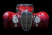 Car Framed Prints - Delahaye Framed Print by Wingsdomain Art and Photography