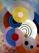 Cubist Framed Prints - Delaunay: Rhythm, 1946 Framed Print by Granger