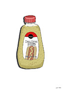 Deli Style Mustard Print by George Pedro