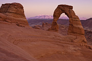Nature Photo Framed Prints - Delicate Arch Framed Print by Andrew Soundarajan