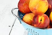 Delicious Peaches Print by Stephanie Frey