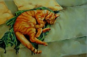 Relax Paintings - Delicious Sleep by Jolante Hesse