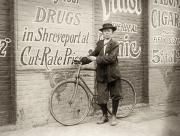 Drugstore Photos - Delivery Boy, 1913 by Granger