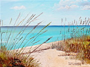 Florida Paintings - Delnor-Wiggins by Larry Whitler