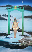 Dolphins Digital Art - Delphi Oracle by A Girl
