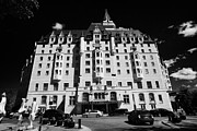 Sask Photo Posters - delta bessborough hotel downtown Saskatoon Saskatchewan Canada Poster by Joe Fox