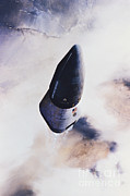 Space Travel Art - Delta Clipper Spacecraft by McDonnell Douglas Aerospace