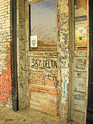 Ms Art Photos - Delta Door by Rebecca Korpita