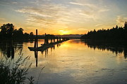 Clark Fork - Id - Delta Sunset by Albert Seger