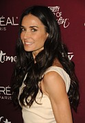 Four Seasons Hotel Framed Prints - Demi Moore At Arrivals For Varietys 3rd Framed Print by Everett