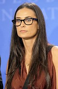 Straight Hair Prints - Demi Moore In Attendance For Annual Print by Everett