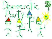 Democratic Party Digital Art - Democratic Party by Jeffrey Church