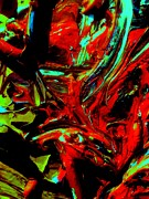 Abstracts - Demonds Upstairs by Allen n Lehman