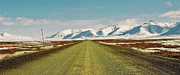Gravel Road Photo Metal Prints - Dempster Highway - Yukon Metal Print by Juergen Weiss