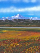 Mckinley Painting Prints - Denali Print by DC Decker