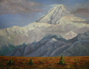 National Park Paintings - Denali by Linda Hiller