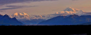 The Great One Prints - Denali Sunset Panorama Print by Scott Mahon