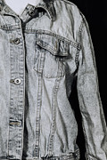 Clothes Clothing Prints - Denim Jacket Print by Joana Kruse