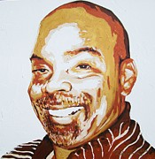 Reginald Charles Adams Paintings - Dennis Haskin by Reginald Charles Adams