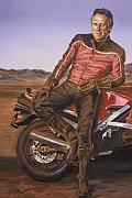 Dennis Hopper Print by Bryan Bustard
