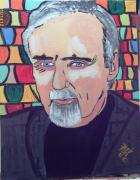 Dennis Hopper Framed Prints - Dennis Hopper Framed Print by Jeffrey Foti