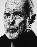 Dennis Prints - Dennis Hopper Print by Steve Hunter