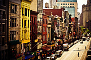 Manhattan Photos - Density - Above Chinatown - New York City by Vivienne Gucwa