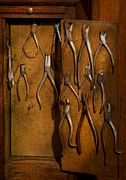Lab Metal Prints - Dentist - Methods of extraction  Metal Print by Mike Savad