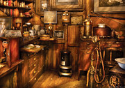 Open Photos - Dentist - The Dentists Desk  by Mike Savad