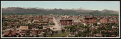1890s Framed Prints - Denver, Colorado, Photochrom By William Framed Print by Everett