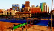 Union Station Metal Prints - Denverscape II Metal Print by Christine Zipps
