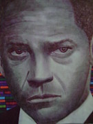 Life Drawing Photo Originals - Denzel Washington by Odinel Pierre    junior