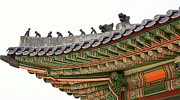 Y120817 Art - Deoksugung Palace by Nancy W Dock