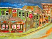 Kik Cola Paintings - Depanneur meets the present by Michael Litvack