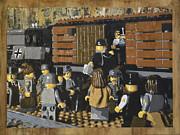 Deportation From Warsaw To Treblinka July 22 1942 Print by Josh Bernstein