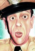 Color Pencil Paintings - Deputy of Mayberry by Marvin  Luna