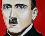Hitler Paintings - Der Fuhrers line by Matthew Lake
