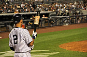 Jeter Photos - Derek Jeter  by Andrew  Cragin