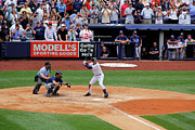 Jeter Photos - Derek Jeters 3000th hit 1 of 8 by James Jenks