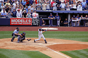 Jeter Photos - Derek Jeters 3000th hit 3 of 8 by James Jenks